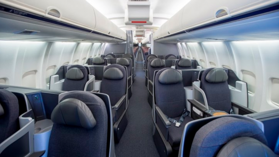 Photo: A look at American Airlines' 2017 Cabin Interior (Source: Dallas News)