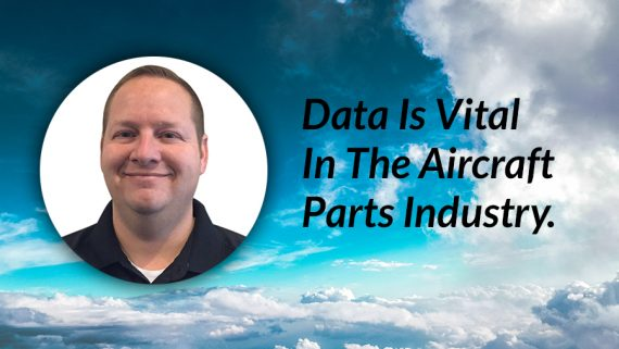 Data is vital in the aircraft parts industry