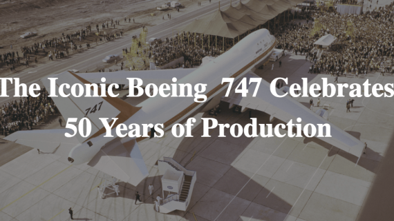 Boeing's 747 Turns 50 in 2019. The aircraft that would change passenger flight forever was completed this month in 1969.