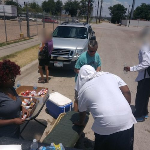 Aereos Employee Provides Warmth to Fort Worth Homeless Community James Thompson Organizes a Tarrant County Clothing Drive