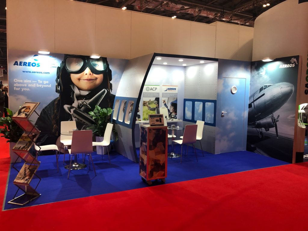 MRO Europe Aereos Booth
