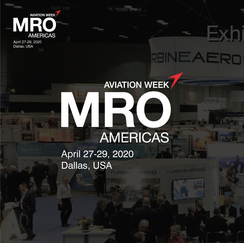 Aereos exhibits MRO Americas 2020