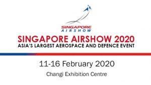 Aereos exhibits Singapore Airshow 2020