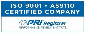 ISO 9001 AS9110 Logo